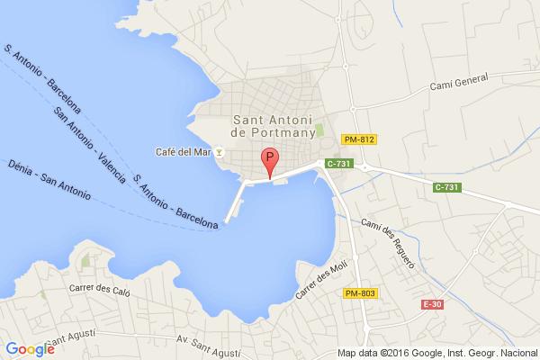 Viaje en Jet Boat,Passeig de la Mar, 07820 Sant Antoni de Portmany, Illes Balears, España